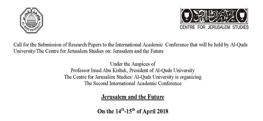 Conference: Jerusalem and the Future