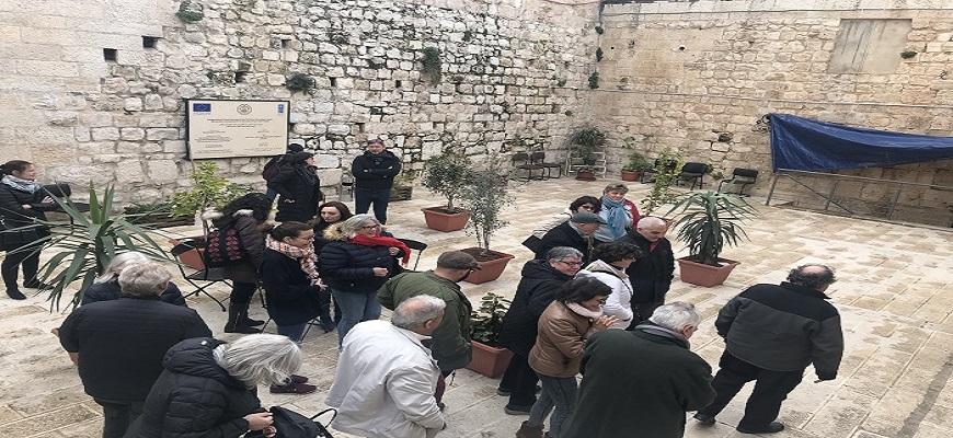مركز دراسات القدس ينظّم جولة لكنيسة القيامة